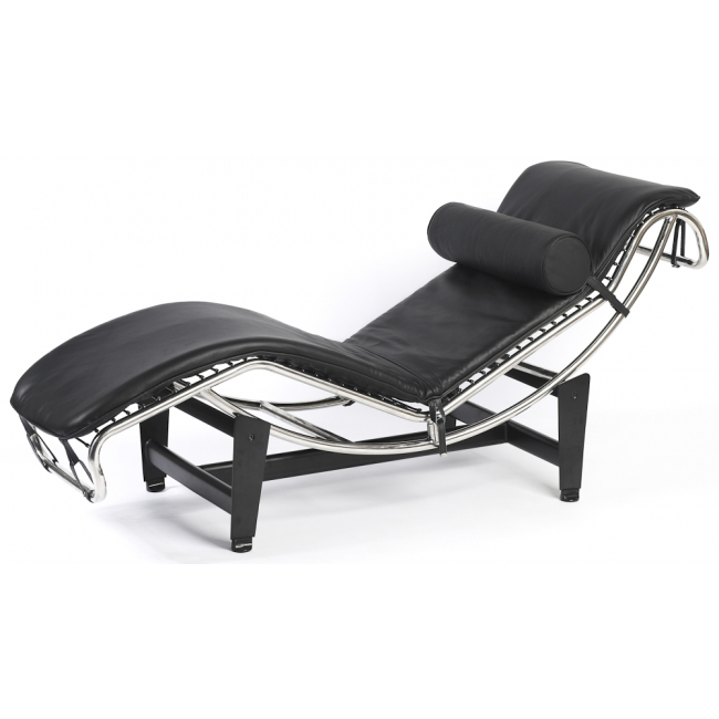 Corbusier Style Leather Modern Lc4, Modern Chaise Lounge Chair Uk