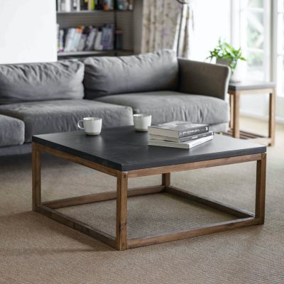 Chilson Wooden Coffee Table