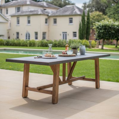 Chilson Wooden Dining Table Large