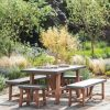 Chilson Table and Bench Set Small