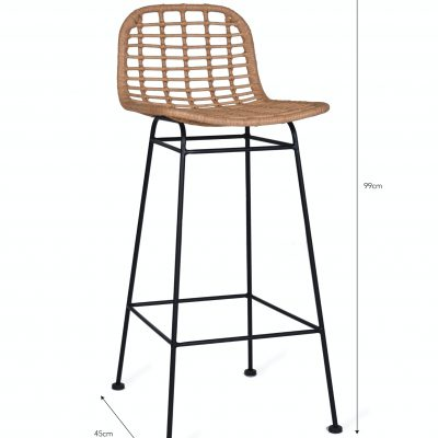 Hampstead Bar Stool Dimensions