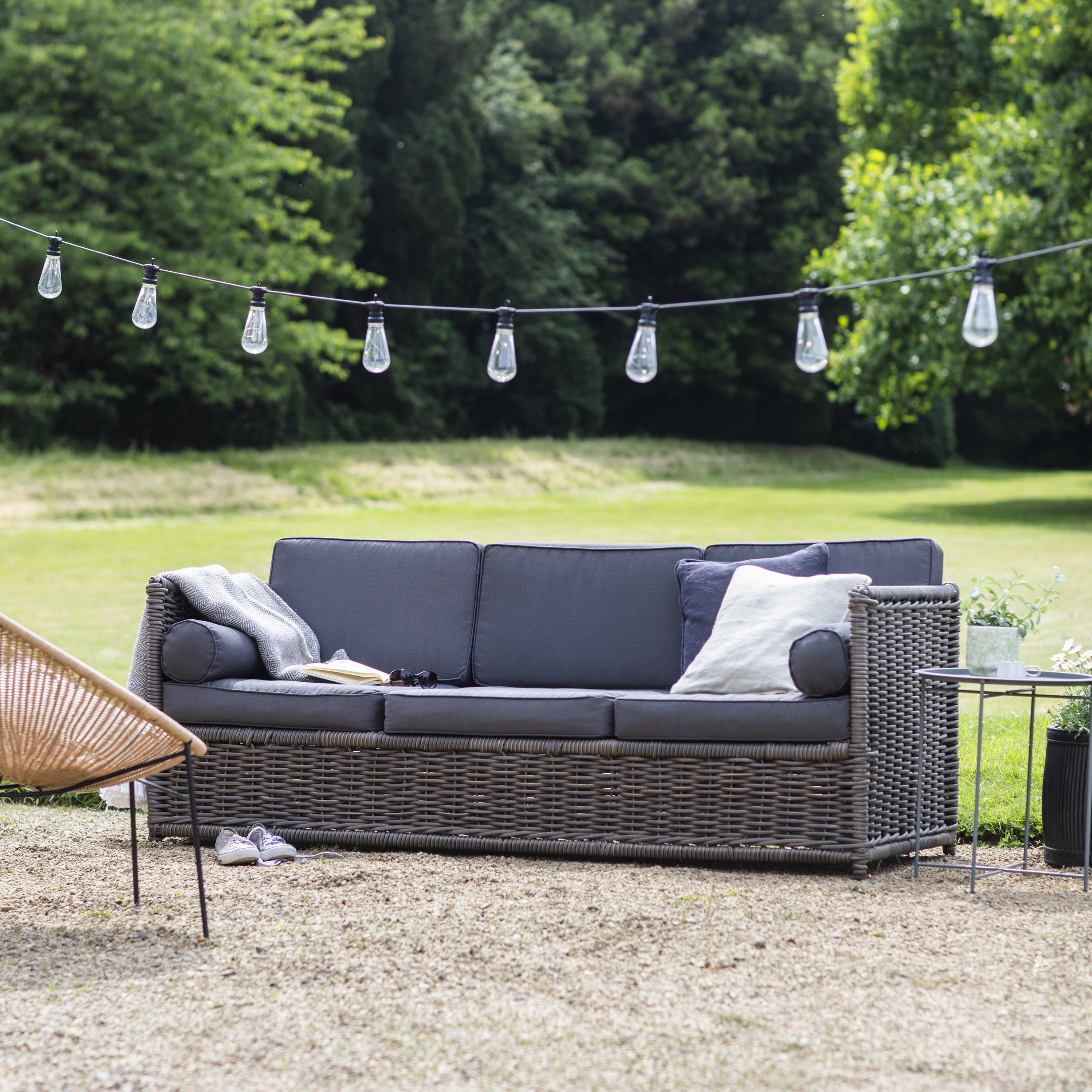 Harting Rattan Garden Sofa Groovy Home Free Uk Delivery