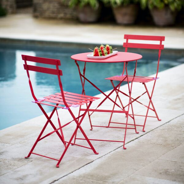 Rive Droite Bistro Set, Small - Watermelon